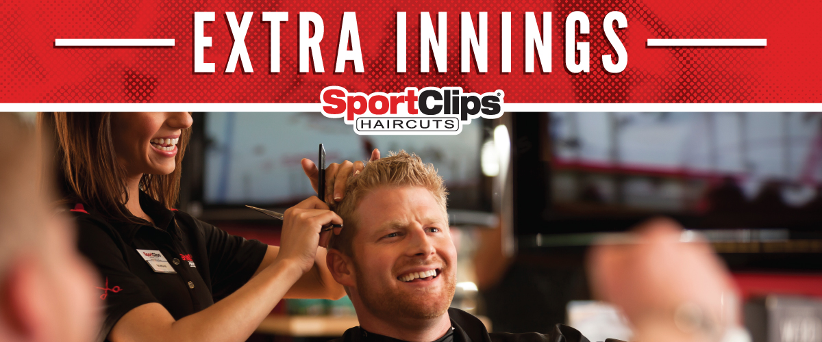 The Sport Clips Haircuts of North Little Rock Extra Innings Offerings