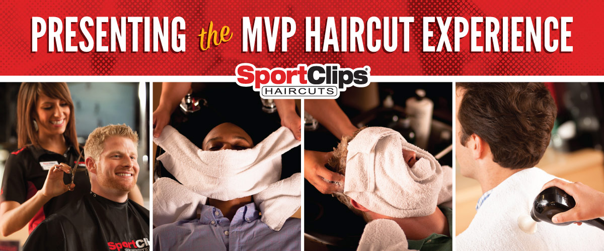 The Sport Clips Haircuts of North Little Rock MVP Haircut Experience